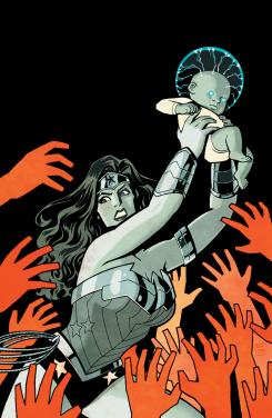 Portada de Wonder Woman #20, por Cliff Chiang