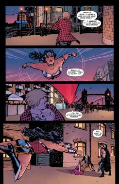 Página de Wonder Woman #20, por Cliff Chiang