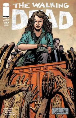 Portada del cómic The Walking Dead #127