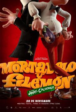 Primer póster de Mortadelo y Filemón contra Jimmy el Cachondo (2014)