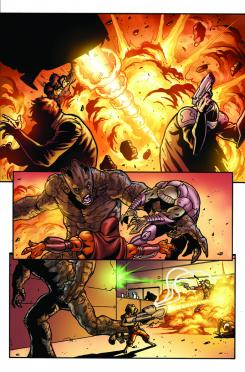 Preview del cómic Guardians of the Galaxy: Galaxy's Most Wanted