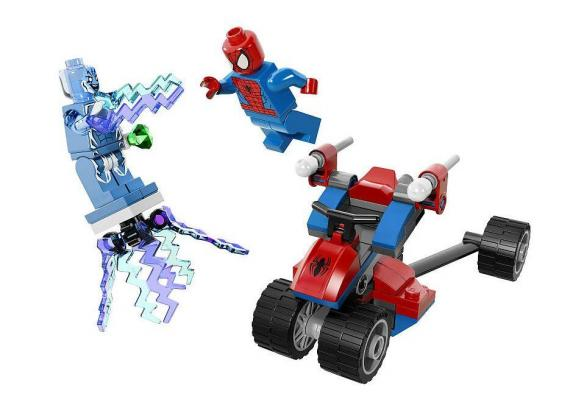 Set de LEGO de The Amazing Spider-Man 2: El Trike Araña vs. Electro