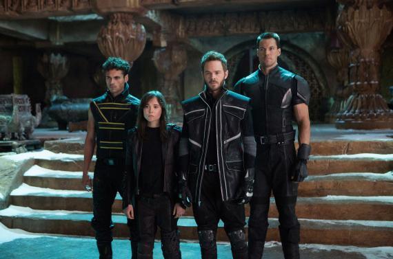 Imagen de X-Men: Días del Futuro Pasado (2014), grupo del futuro apocalíptico