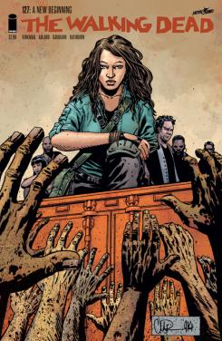 Portada de The Walking Dead #127