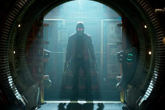 Chris Pratt como Peter Quill / Star-Lord en Guardianes de la Galaxia (2014)
