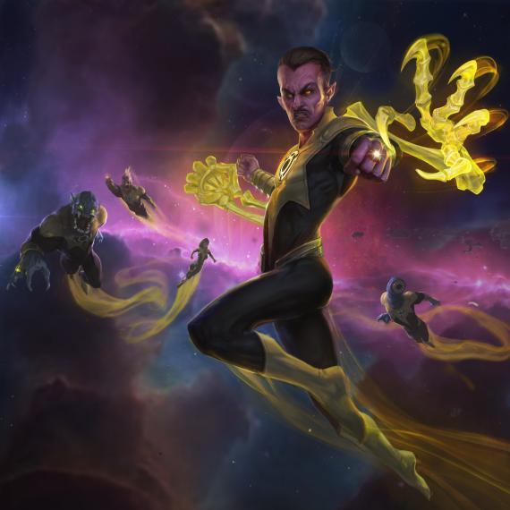 Sinestro se une a las filas de Infinite Crisis