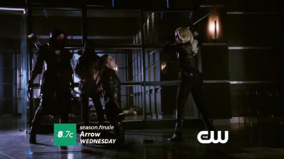 Captura de la promo de Arrow 2x23: Unthinkable