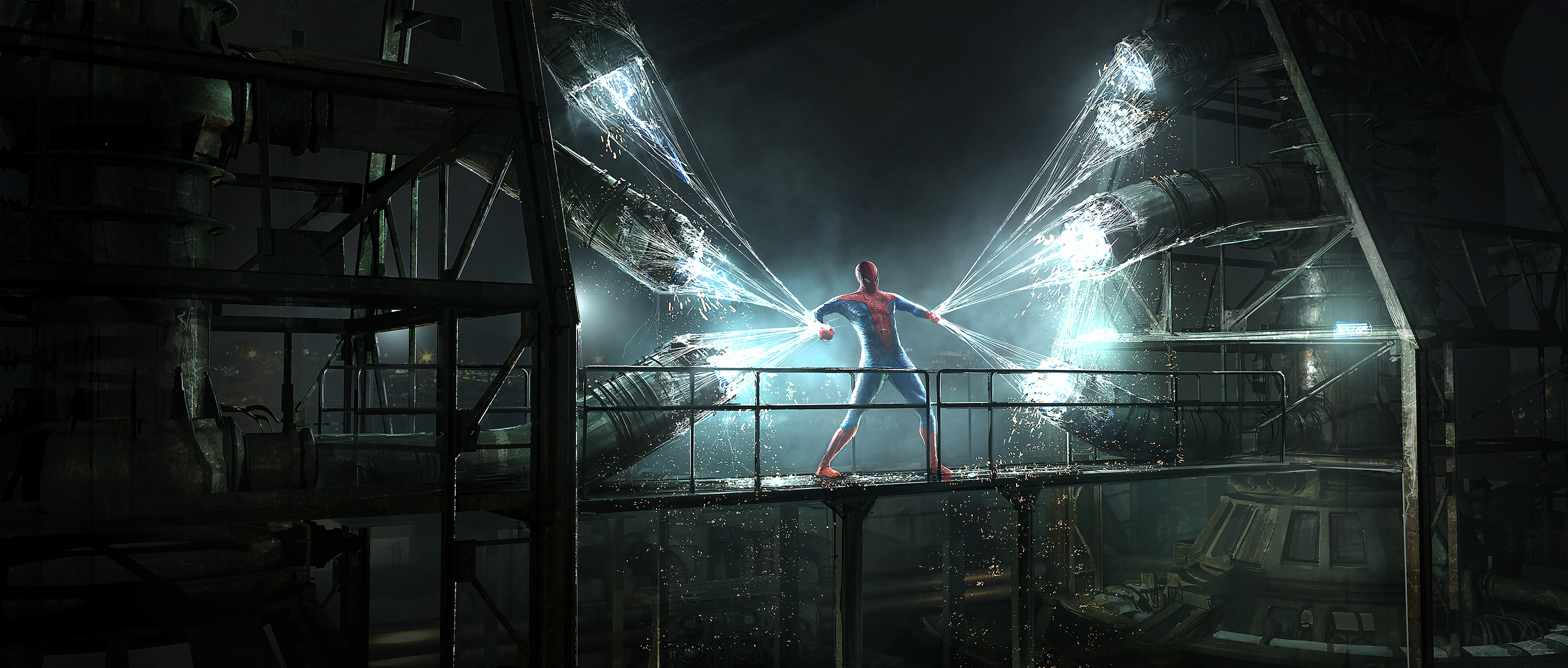 Cine] Concept arts varios de The Amazing Spider-Man 2, por Emmanuel ...