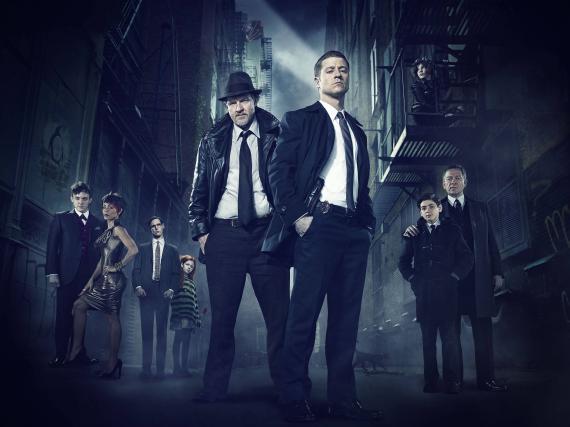 Imagen promocional de Gotham (2014), vistazo a todo el reparto principal