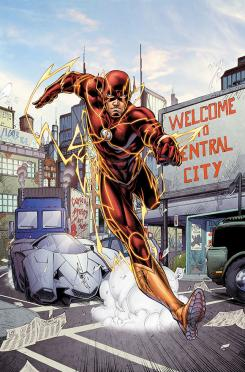 Portada de The Flash: Futures End #1