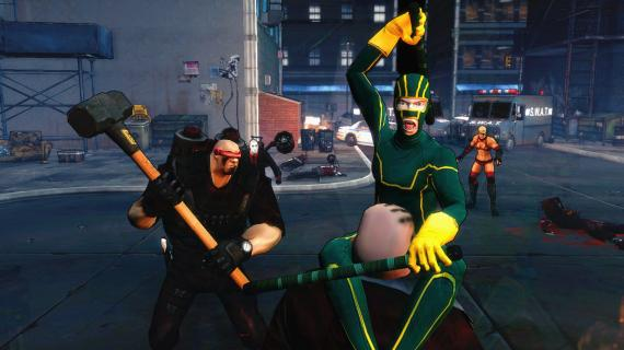 Captura del videojuego Kick-Ass 2 (2014)
