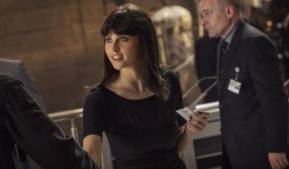 Imagen de The Amazing Spider-Man 2: El Poder de Electro (2014). Felicity Jones es Felicia