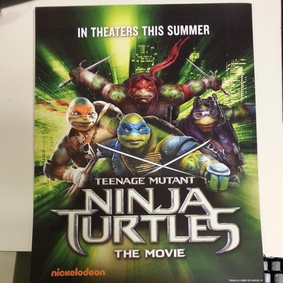 Póster de Teenage Mutant Ninja Turtles (2014)