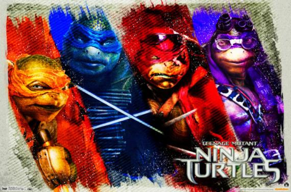 Poster de Teenage Mutant Ninja Turtles (2014)
