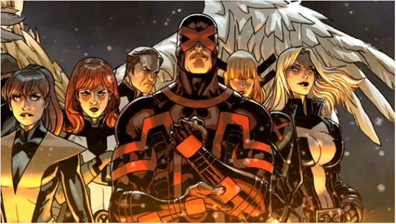 Panel de X-Men: No More Humans