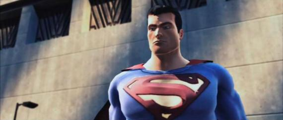 Captura del videojuego cancelado de Superman / Blue Steel (2008)