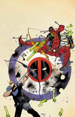 "Portada para ""Hawkeye vs Deadpool"""