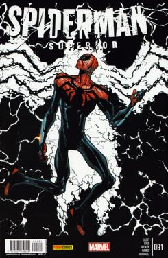 Portada del cómic español Spiderman Superior 91