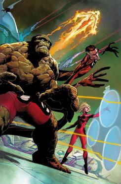 Imagen portada alternativa de Fantastic Four vol. 5 #1