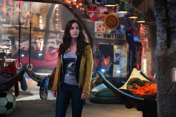 Megan Fox como April O'Neil en Teenage Mutant Ninja Turtles (2014)
