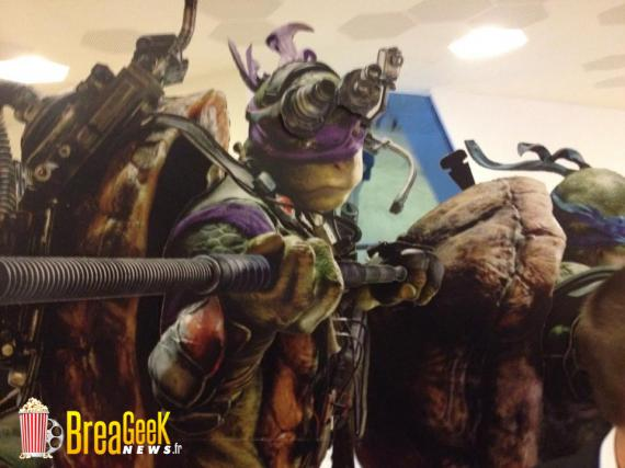 Imagen promocional de Donatello en Teenage Mutant Ninja Turtles (2014)