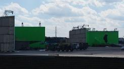 "Imagen del set de rodaje de ""Batman v Superman: Dawn of Justice"" (2016)"