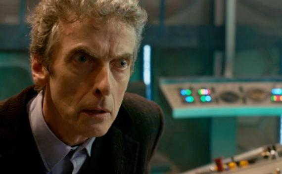 "Peter Capaldi como el Doceavo Doctor en ""The Day of the Doctor"""