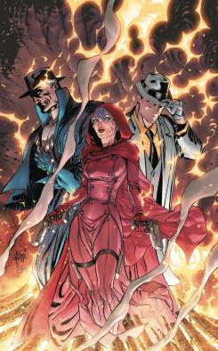 "Portada de ""Trinity of Sin #1"" de Guillem March"