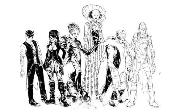 Boceto de Klarion #1 por Trevor McCarthy