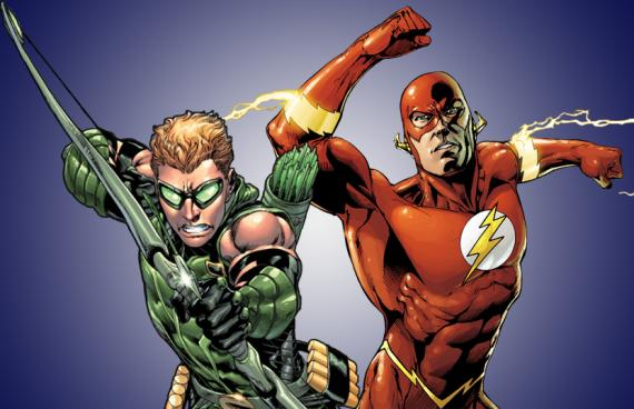 Green Arrow y The Flash