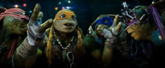 Captura del TV Spot de Teenage Mutant Ninja Turtles (2014)