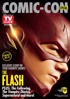 "Portada de TV Line para la SDCC dedicada a ""The Flash"""
