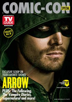 "Portada de TV Line para la SDCC14 dedicada a ""Arrow"""