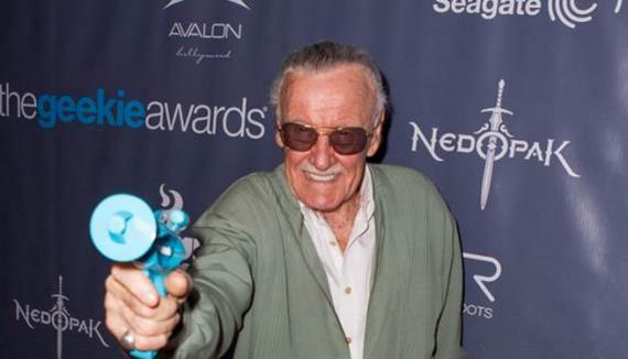 Stan Lee en los The Geekie Awards 2013