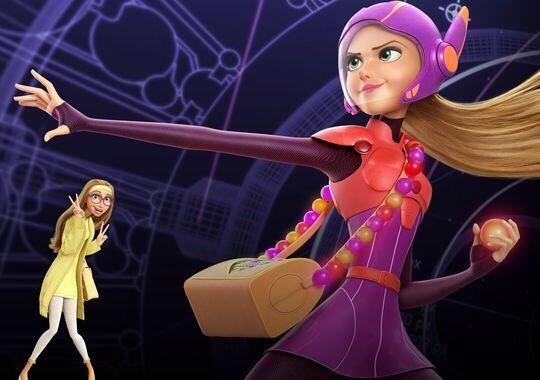 Honey Lemon en en Big Hero 6