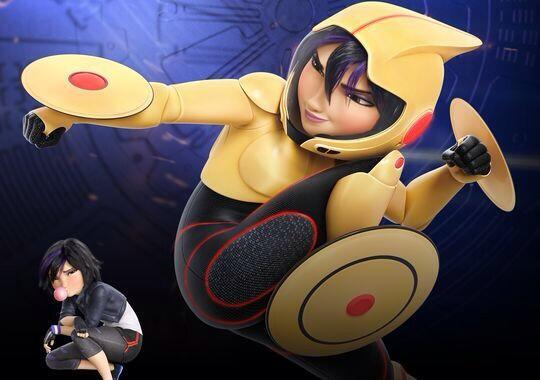 GoGo Tomago en Big Hero 6