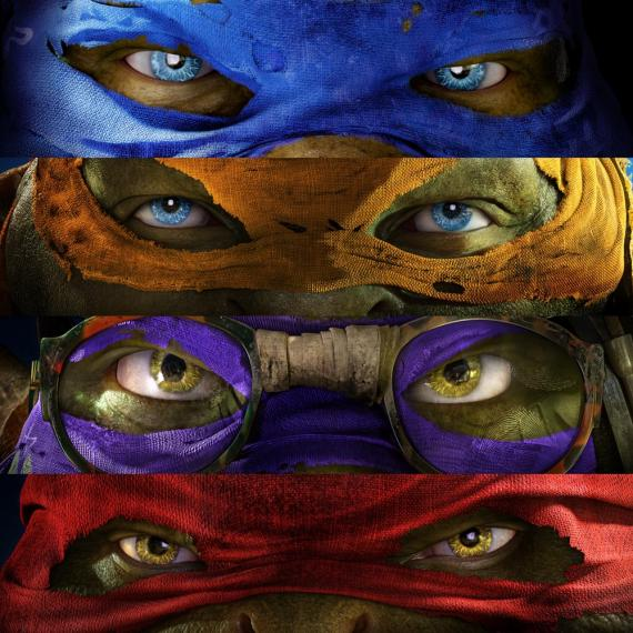 Póster promocional de Teenage Mutant Ninja Turtles (2014)