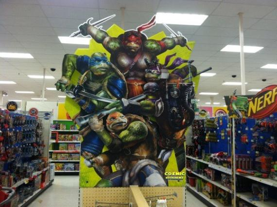 Display de Teenage Mutant Ninja Turtles (2014)
