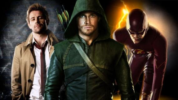 Constantine, Arrow y The Flash