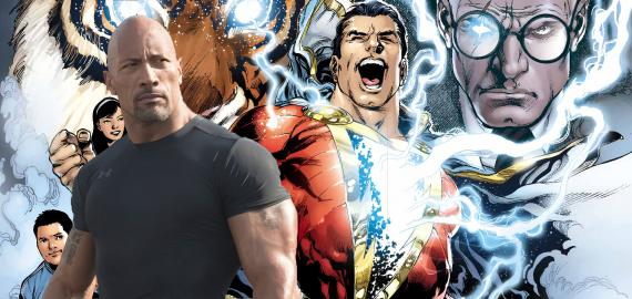 Dwayne Johnson podría interpretar a Shazam
