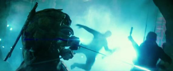 Captura del cuarto trailer de Teenage Mutant Ninja Turtles (2014)
