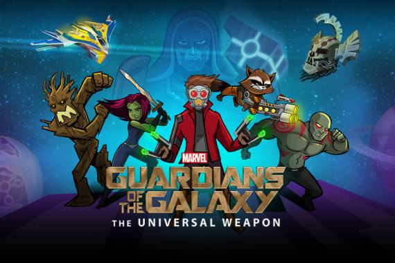 Videojuego Guardians of the Galaxy: The Universal Weapon (2014) para móviles