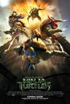 Póster de Teenage Mutant Ninja Turtles (2014)