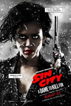 Póster individual de Sin City: A Dame to Kill For (2014), Jessica Alba es Nancy