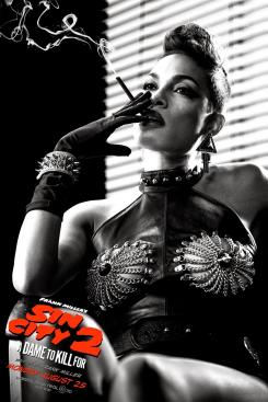 Póster individual de Sin City: A Dame to Kill For (2014), Rosario Dawson es Gail