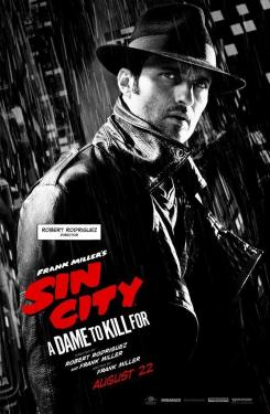 Póster individual de Sin City: A Dame to Kill For (2014), el director Robert Rodríguez