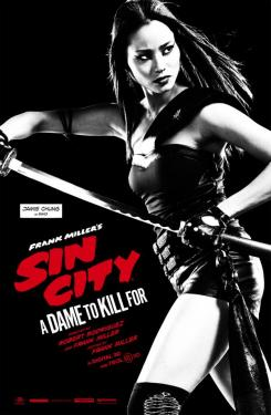 Póster individual de Sin City: A Dame to Kill For (2014), Jamie Chung es Miho