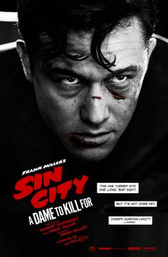 Póster individual de Sin City: A Dame to Kill For (2014), Joseph Gordon-Levitt es Johnny