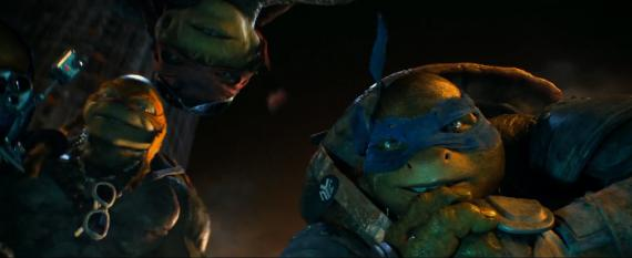 Captura del primer featurette de Teenage Mutant Ninja Turtles (2014)