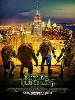 Póster internacional de Teenage Mutant Ninja Turtles (2014)